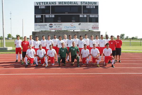 Men's Soccer 2015 Team Photos