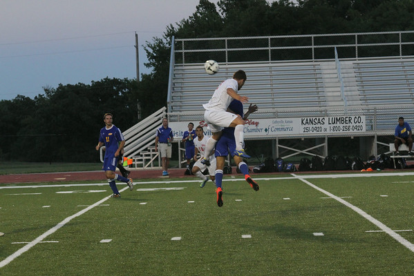 2014 Men's Soccer Action Photos