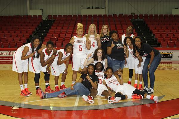 Women's Basketball Spring 2015 Team Photos